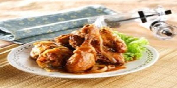 Ayam Goreng Saus Inggris