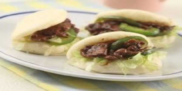 Bakpao Sandwich Ayam Teriyaki