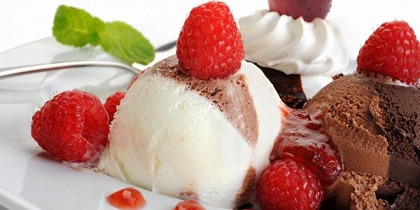 Es Krim Coklat Vanilla