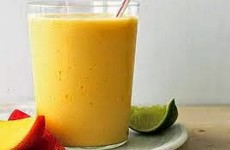 Smoothies Mangga Jeruk Nipis
