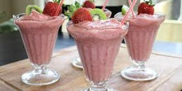 Stowberry smoothies