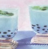 Blueberry Bubble Drink
