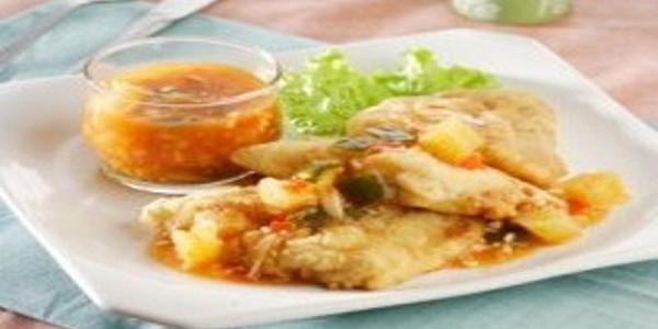Ikan Dori Saus Nanas