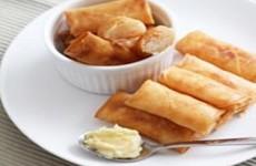 Lumpia udang mayonnaise