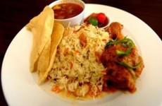 Nasi Briyani Ayam Ala India