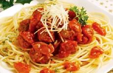 Spaghetti Saus Bola Daging