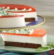 CAKE COKELAT LECI STROBERI