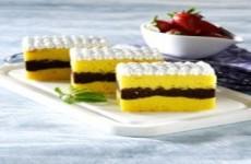 CAKE LABU LAPIS COKELAT