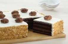 CHOCO ROCHER CAKE
