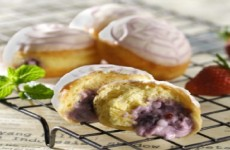 DONAT MINI BLUEBERRY JELI